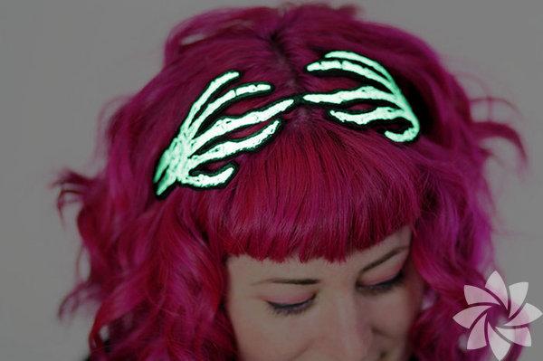 Cadılar Bayramı'na özel saç aksesuarları