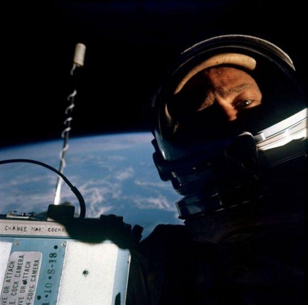 Buzz Aldrin'in selfiesi - 1969