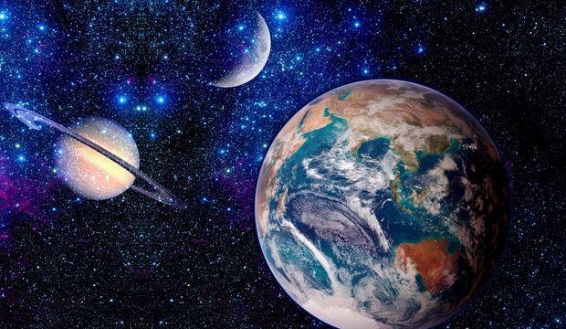 İki zor gezegen birbirine dik açıda