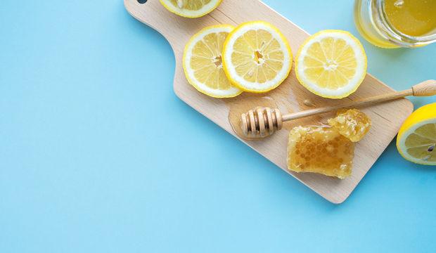 Bal ve limonla güç depolayın