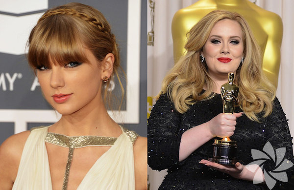 Taylor Swift ve Adele - 27