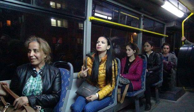 Otobüsler kadınlar için daha güvenli olacak