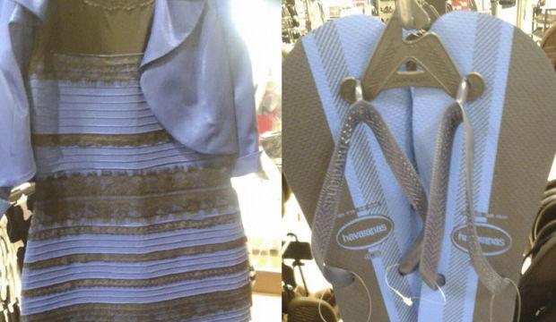 Bu terlik mavi-siyah mı yoksa altın-beyaz mı?