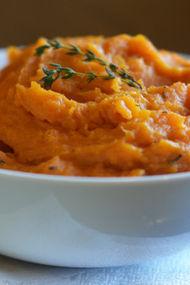 Tatlı patates püresi