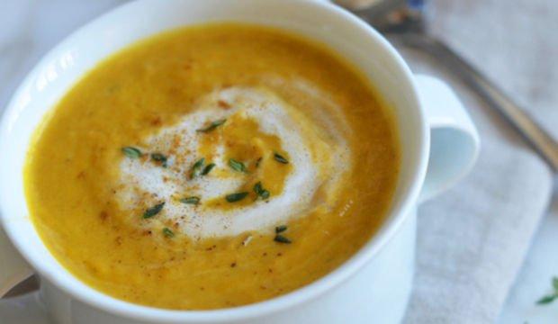 Pırasalı balkabağı çorbası