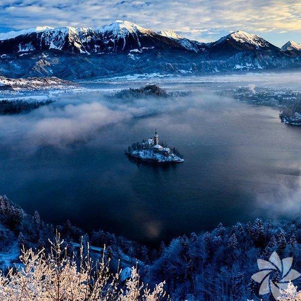 Bled Gölü- Slovenya