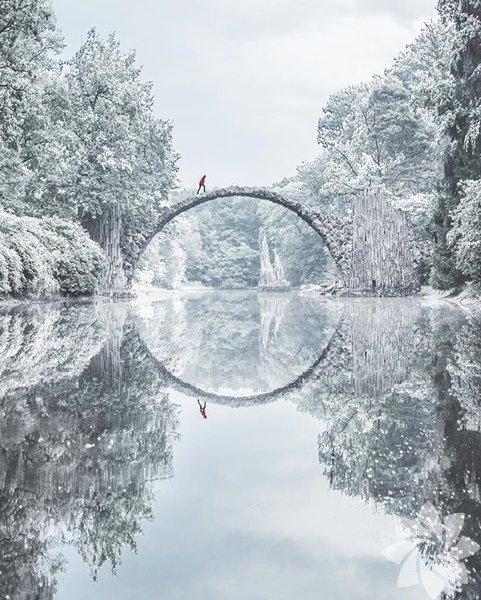 Rakotzbrücke - Almanya