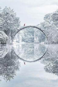 Dünyanın dört bir yanından kış manzaraları
