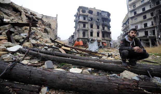 Halep'te yaşayan insanlardan mesaj var