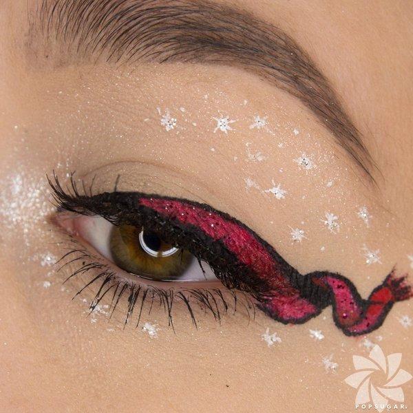Yılbaşına özel eyeliner