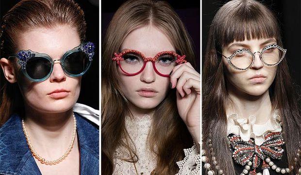 2017 İlkbahar - Yaz gözlük trendleri