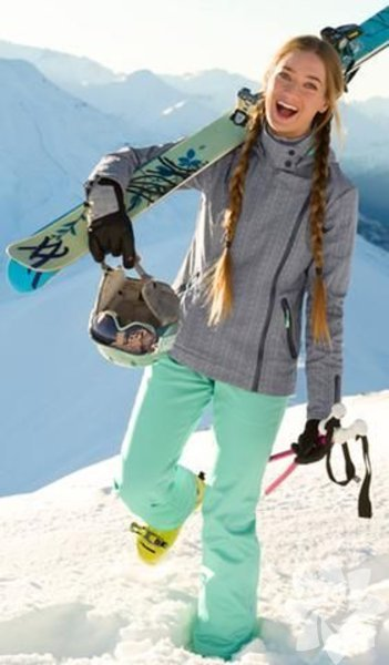 Kayak sezonu kış kombinleri