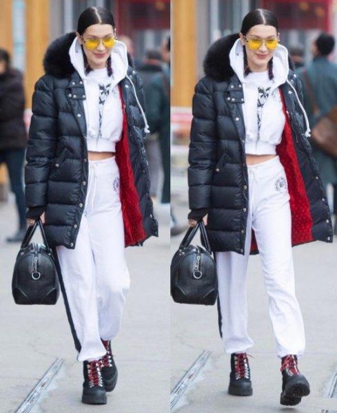 Bella Hadid'in sokak stili