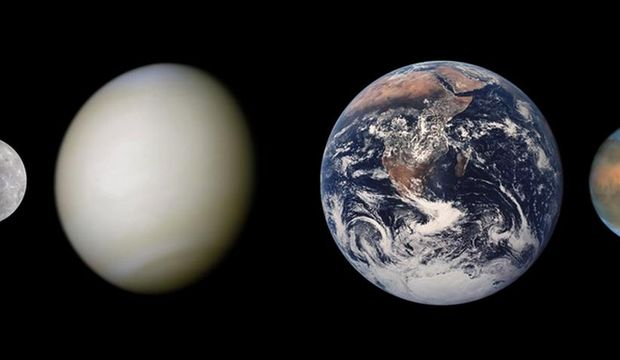 Merkür-Jüpiter dik açıda...