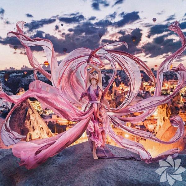 Rus fotoğrafçı Kristina Makeeva'nın Kapadokya fotoğrafları büyülüyor.