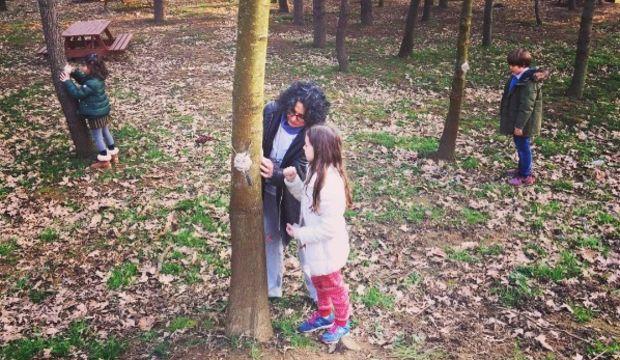 Çocuk, orman, sanat bir arada!
