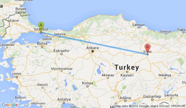 Sivas ve İstanbul