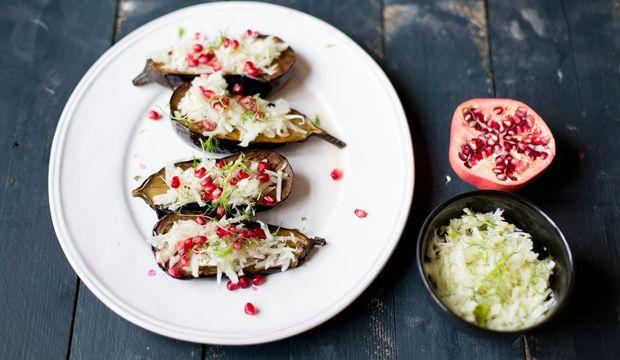 Haftanın fit menüsü: Fırında patlıcan