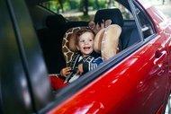 Dikkat araçta bebek var!