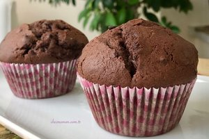 Kakaolu çikolatalı muffin - Müjgan Yurtseven'den nefis kakaolu çi...