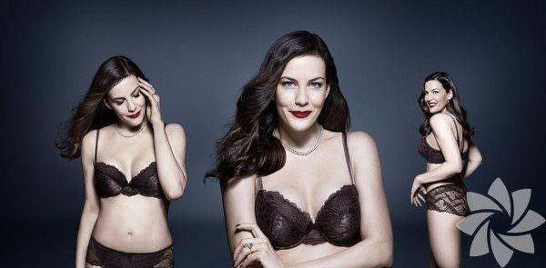 ABD'li oyuncu Liv Taylor (40), iç giyim markası Triumph Essence için kamera karşısına geçti.