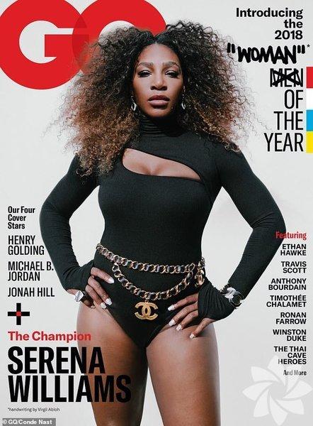 Amerikalı tenisçi Serena Williams, GQ Woman of the Year (Yılın Kadınları) dergisi tarafından yılın kadını seçildi.