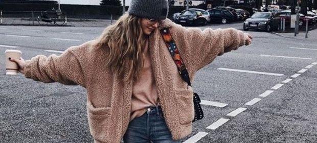 Oversize ceket modası