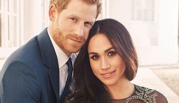 Prens Harry ve Meghan Markle'dan nişan fotoğrafları