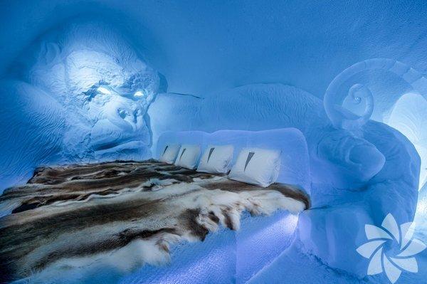 Buz Oteli, 1989 yılında İsveç'inJukkasjärvi kasabasındakuruldu.