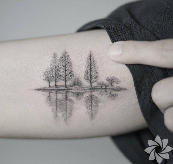 Kış temalı dövmeler