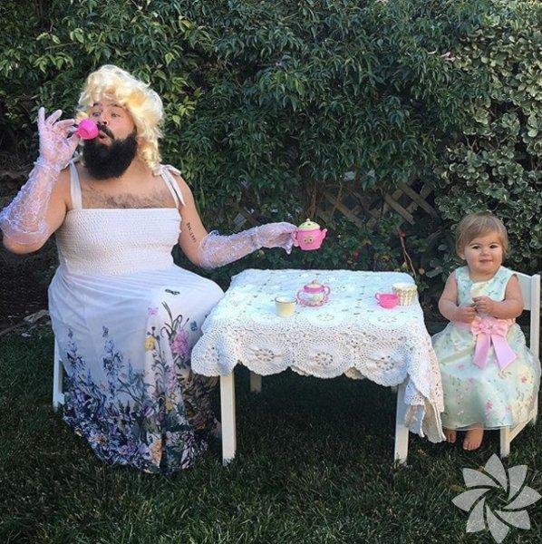 Baba ve kızının muhteşem fotoğrafları