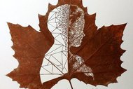 Sıradan bir yaprak muhteşem bir sanat eserine nasıl dönüşür?