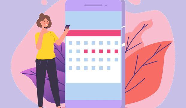 Adet döngünüzü telefonunuzdan takip edin!
