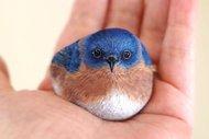 Taşlara can veren sanatçı:Akie Nakata