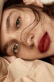 Dumanlı dudak makyajı