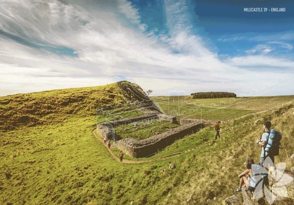 Hadrian Duvarı - İngiltere