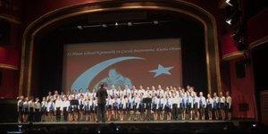 Devlet Opera Balesi çocuk korosu 20 yıl aradan sonra Süreyya'da
