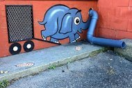 Bu sokaktan sanat geçti!