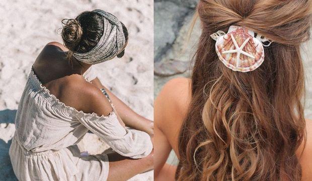 Plajlarda bu saçlar çok moda!