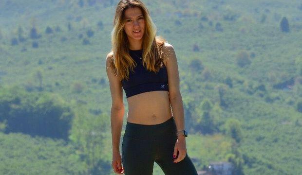 O bir spor modeli: Nurcan Arıcan