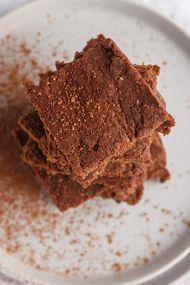Süt reçelli brownie