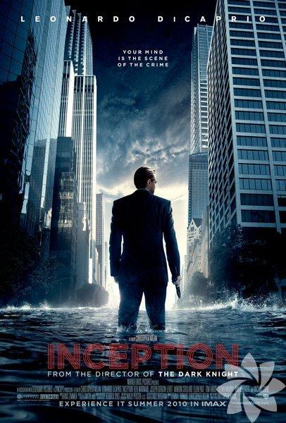 Inception (2010) Christopher Nolan'ın yönetmenliğini yaptığı filmi bilim kurgu türünün bir örneğini oluşturur. Nolan, Inception'ı korku filmi olarak çekmeyi düşünmüş senaryoyu gördükten sonra soygun hikayesine çevirmeye karar vermiştir. IMDB: 8.8