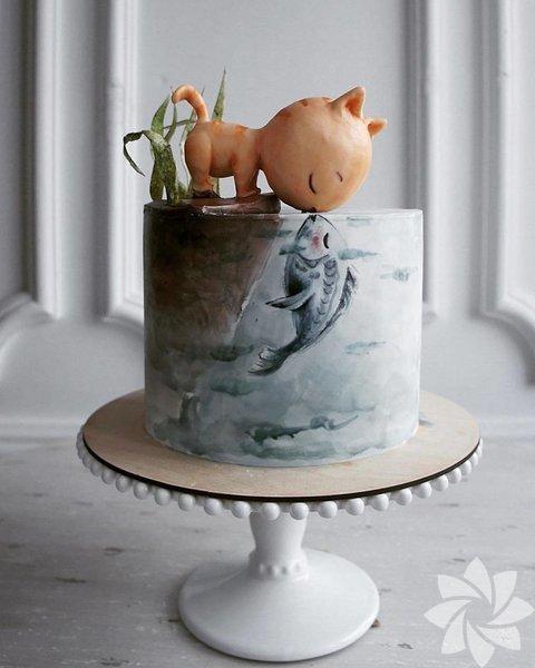 Rus şefinin elinden çıkan birbirinden güzel pastalar...