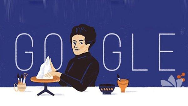 Doğumunun 108. yılında Google tarafından unutulmayan Füreya Koral, Doodle oldu.