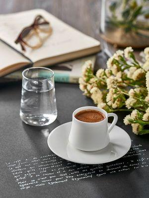 Farklı aromalarla Türk kahvesi