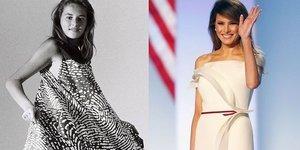 First Lady Melania Trump'ın stil evrimi