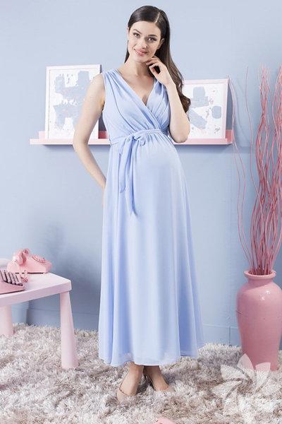 Trendyol mavi şifon elbise 199.00 TL