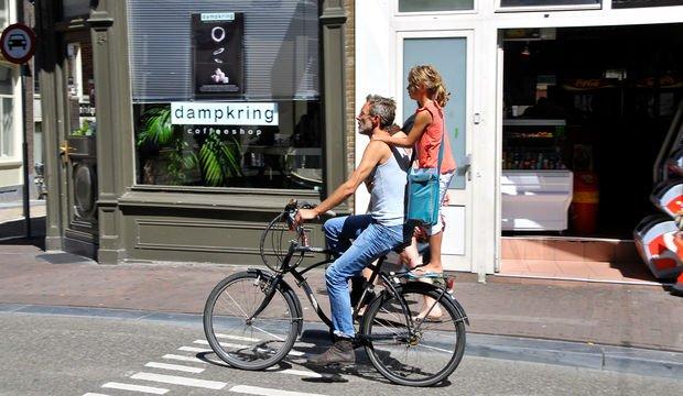 Bisiklete binerek para kazanacaklar...