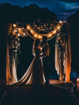 Düğünlerde son trend: Gece fotoğrafları