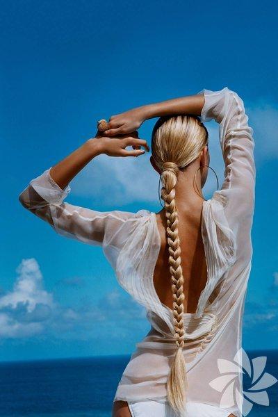 Örgü saçlar ile hem sıcaktan kendinizi koruyabilir hem de şık olabilirsiniz.